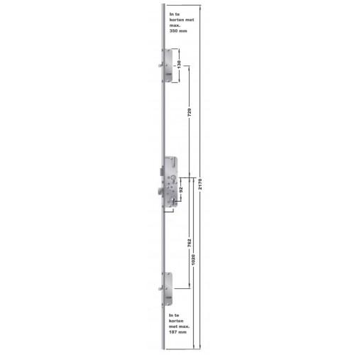 FUHR 855 penslot voor voordeur, Type 8.