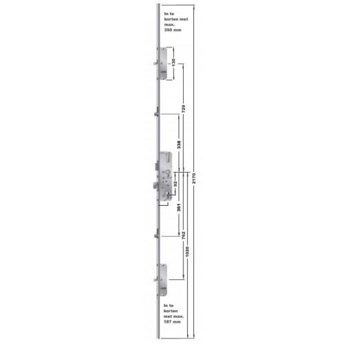 FUHR 855 penslot voor voordeur, Type 9