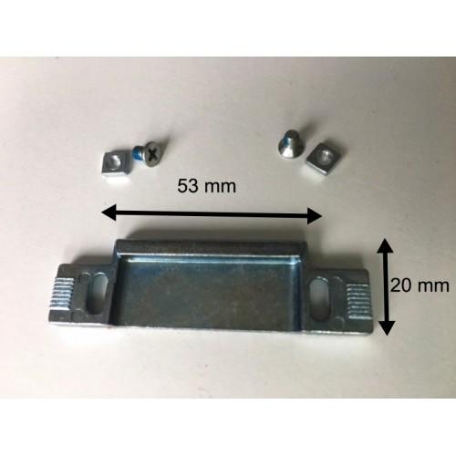 Dagschoot sluitstuk verstelbaar 6 mm Type 116.06