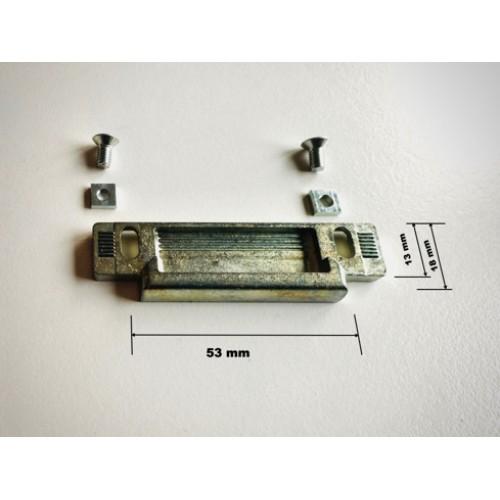 Fuhr Dagschoot sluitstuk verstelbaar 8 mm Type RFFZ 47454